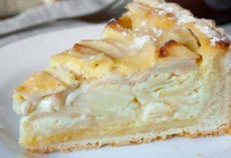 Яблочный пирог с начинкой (Цветаевский) Этот пирог — не просто тесто — яблоки. Здесь особенная яблочная начинка! Не даром у него такое название!