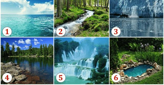 Удивительный и интересный тест: Выберите водоем и узнайте что вас ожидает!