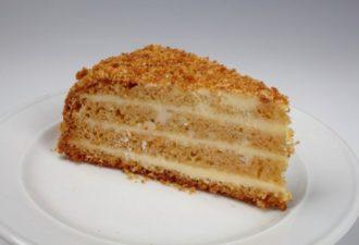 Медовик для ленивых: даже тесто не нужно раскатывать!