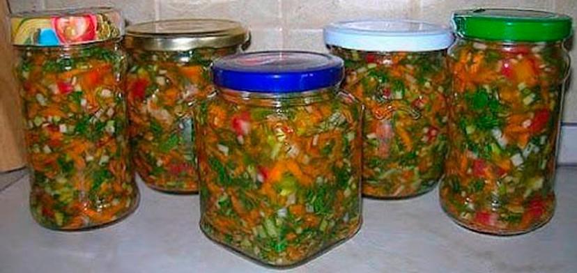 Заправка для супа на зиму. Очень полезная заготовка