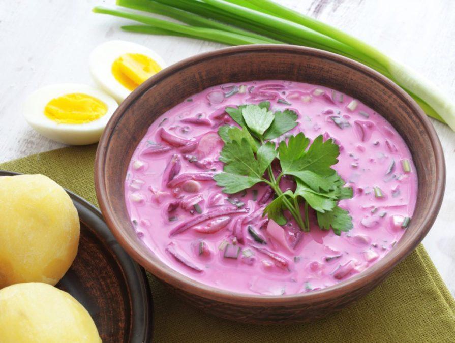 Холодный свекольный суп: идеальный вариант для вкусного и здорового питания!
