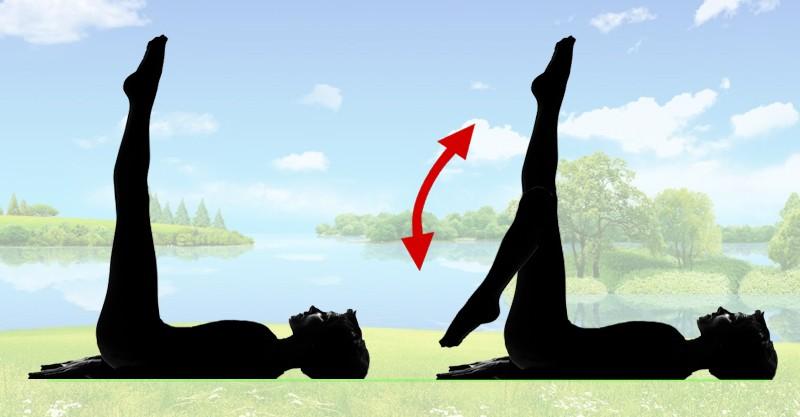 Чтобы избавиться от пышных бедер, делайте этими упражнения за 5 минут до сна