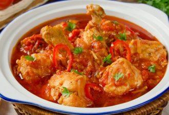 Классика грузинской кухни: чахохбили из курицы