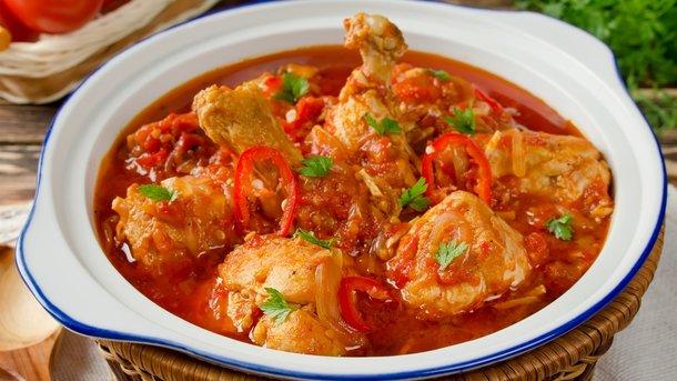 Чахохбили из курицы - великолепное классическое блюдо грузинской кухни!