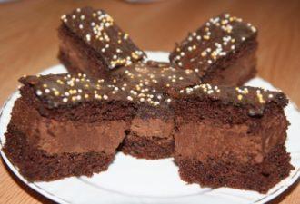 """Торт """"Риго Янши"""" – очень нежный шоколадный десерт!"""