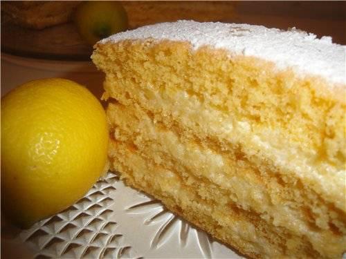 Пирог с йогуртом и лимоном — вкуснее и лучше не придумаешь!