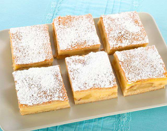 Яблочный пирог c ванильным пудингом — этот шикарный десерт станет вашей гордостью!