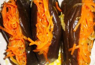 Баклажаны с морковью. Кого ни угощаю, все просят рецепт!