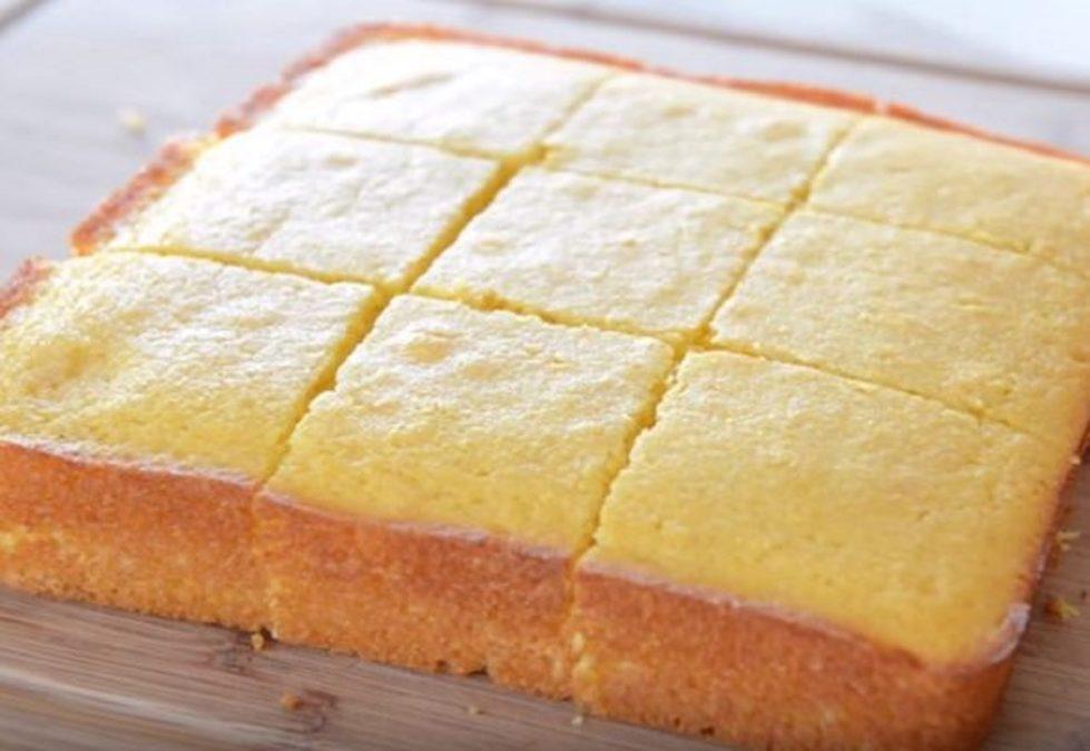 Пирог с кукурузной мукой – очень удачный рецепт домашней выпечки!