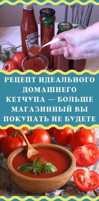 Рецепт идеального домашнего кетчупа — больше магазинный вы покупать не будете