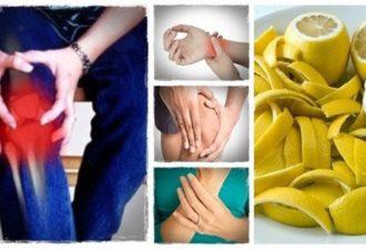 Лимонная цедра творит чудеса: один целительный рецепт, позволяющий вылечить суставы