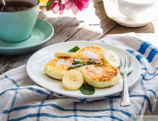 Банановые сырники - необычайно вкусный десертик