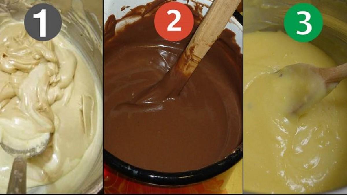 Научитесь готовить эти 3 крема для тортов и пирожных и ваши десерты всегда будут на высоте!
