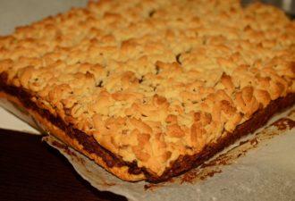 """""""Тертый пирог с джемом"""" – рецепт, который будет передаваться в вашей семье из поколения в поколение!"""