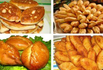 12 рецептов домашних пирожков. Сохрани, тебе пригодятся, вкусно