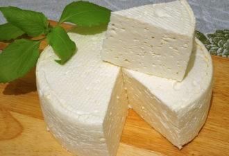 Домашний французский сыр - очень вкусно, просто и дёшево...