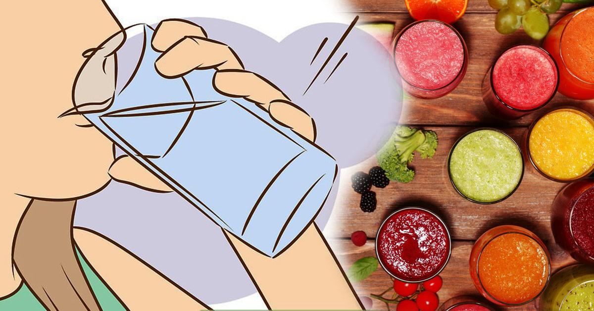 Устранить избыток жидкости, отёки и уменьшить живот поможет одна простая диета