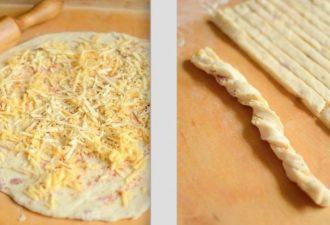 Классная закуска перед первым блюдом: Сырные Хлебные палочки