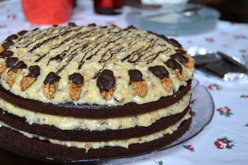 Вкуснейший немецкий торт с очень нежным кремом!