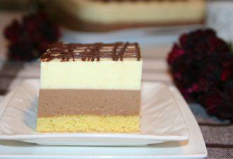 Легкий торт-десерт, который очень любят дети!