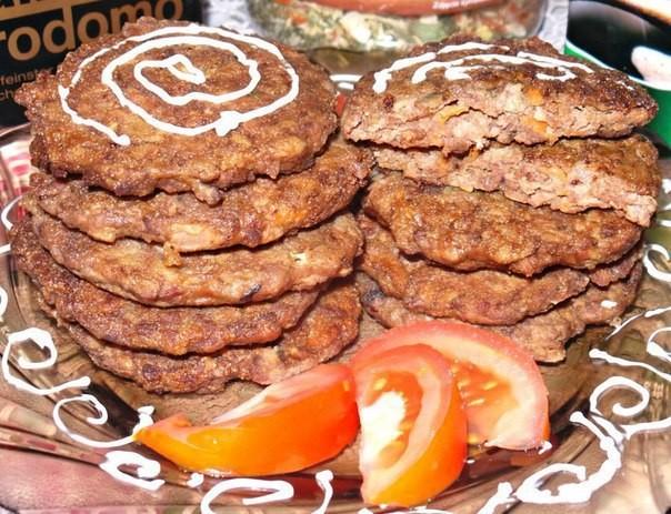 Печёночные котлеты с манкой и морковью. Таких вкусных вы ещё не готовили!