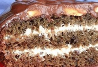 Самый быстрый торт «Нежное облако»