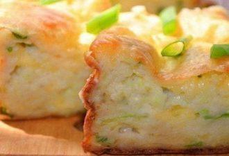Самая сочная, воздушная и ароматная запеканка из кабачков с сыром!