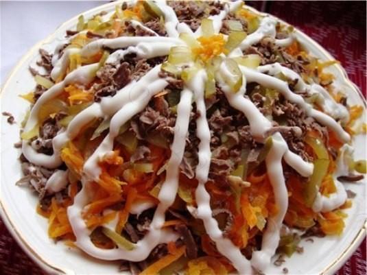Мясной салат «Сердечный». Моя семья его обожает!