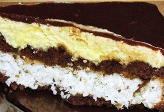 Нежнейший домашний торт «Баунти» с кокосовой стружкой - идеальный десерт
