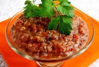 Баклажанная икра с помидорами на зиму - шедевр вкуса и аромата!