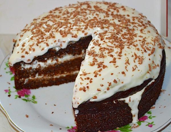 Торт «Негр в пене» по рецепту, как готовили в детстве. Это было невероятно вкусно!
