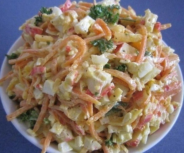 4 рецепта по-настоящему вкусных и не сложных салатов