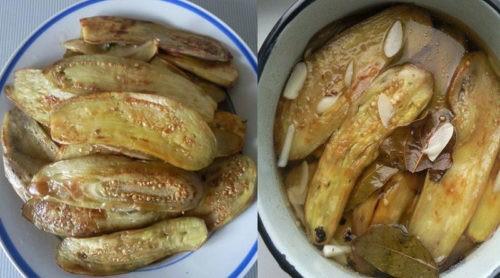 Ароматные маринованные баклажаны - идеальная закуска