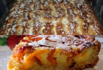 Пирог с яблоками. Такой нежный, как пирожное