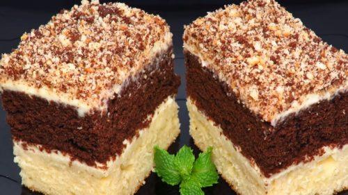 Любимое пирожное «Сметанник»: вкус детства из школьной столовой