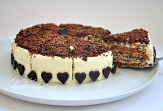 Шикарный итальянский ореховый тортик почти без муки