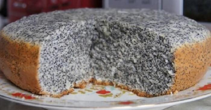 МАКОВНИК - шикарный и очень вкусный домашний пирог