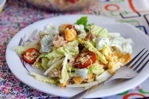 ТОП-6 вкуснейших и очень нежных салатов с пекинской капустой