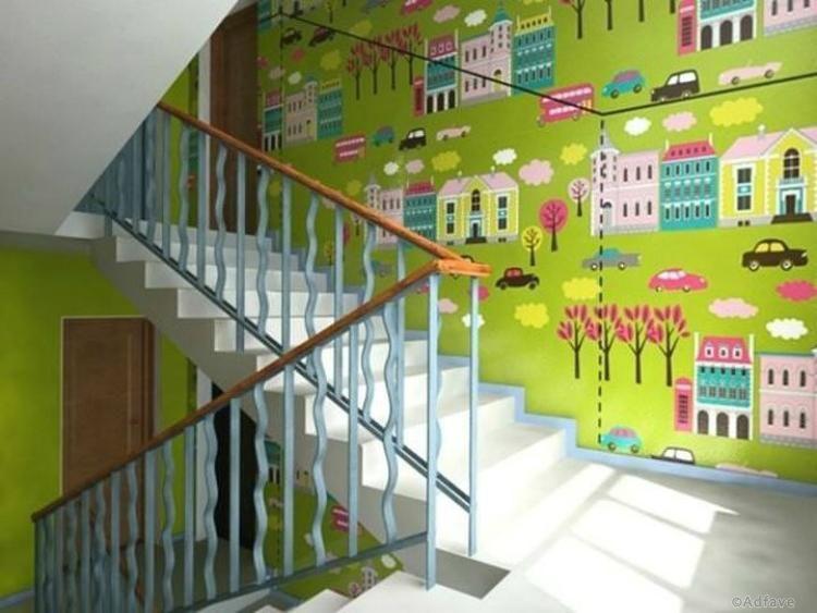 Как жильцы старых домов разукрасили свои подъезды. Вот пример для подражания!