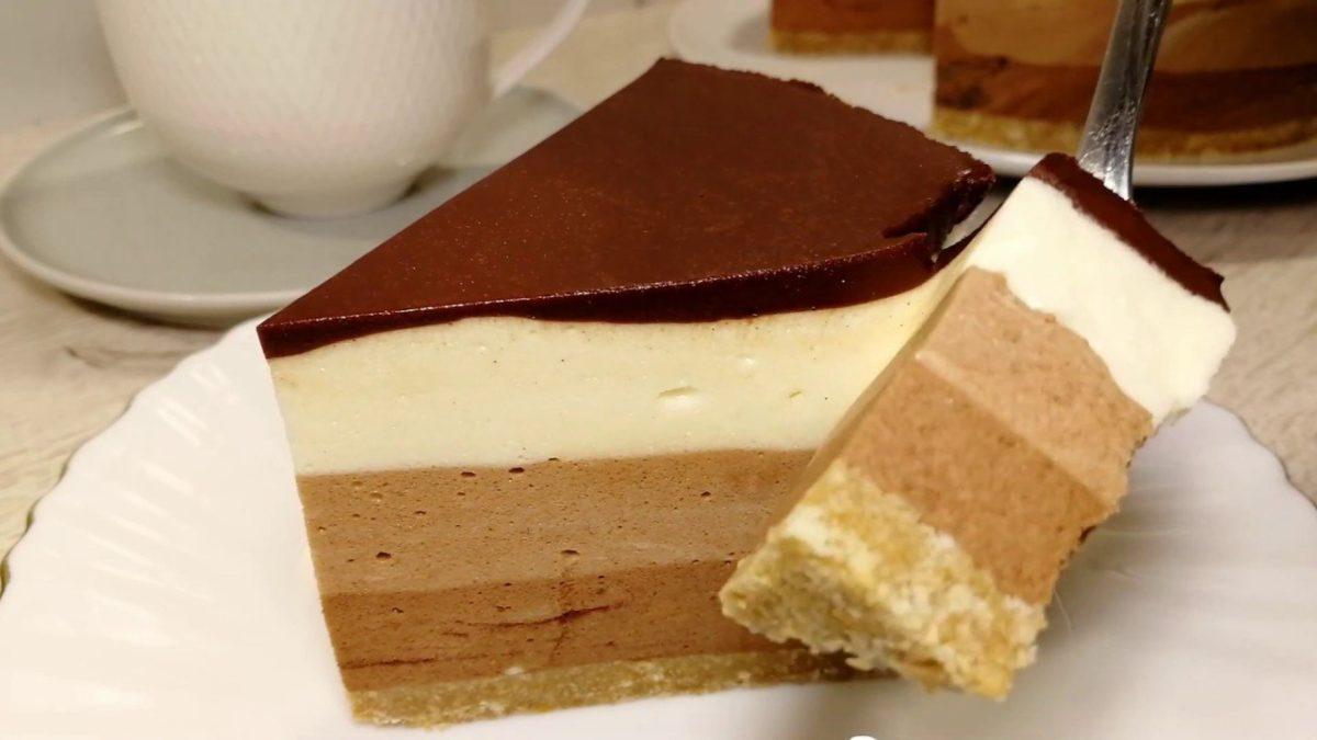 Обалденный торт из простых продуктов - готовим без выпекания