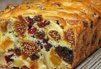 Десерт, который можно готовить хоть каждый день — кекс «Ореховая мазурка» с сухофруктами