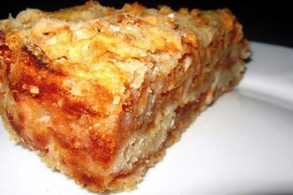Очень вкусный рассыпчатый пирог с яблоками