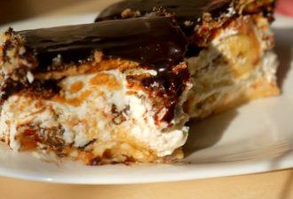 Удивительно вкусный и простой Творожный тортик без выпечки: за пару минут