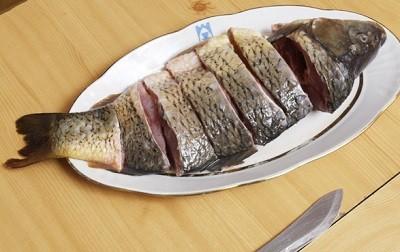 Фаршируем изумительную рыбку по-еврейски - очень вкусно