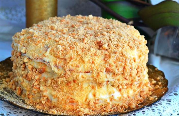 """Обалденный тортик """"Пломбир"""" – готовим без выпекания"""