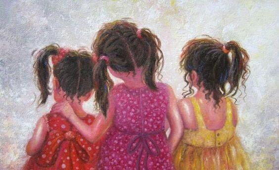 Сестра - больше, чем подруга! Это родственная душа, половина сердца!