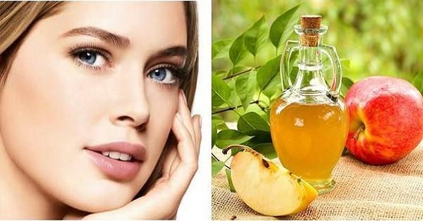 Как яблочный уксус помогает убрать морщины и оздоровить кожу