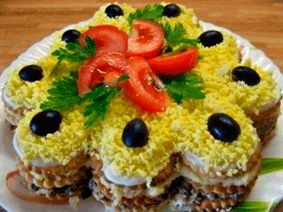 6 великолепных праздничных салатов. Гости ахнут от восторга