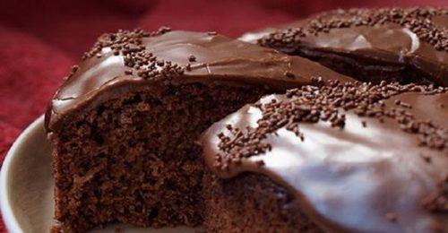 Постный шоколадный манник