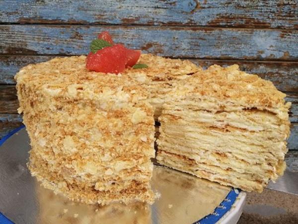 """Необычный рецепт хрустящего торта """"Наполеон"""". Когда классический приелся..."""